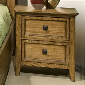 Intercon Alta 2-Drawer Nightstand