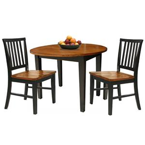 Intercon Arlington 3Pc Drop Leaf Dinette