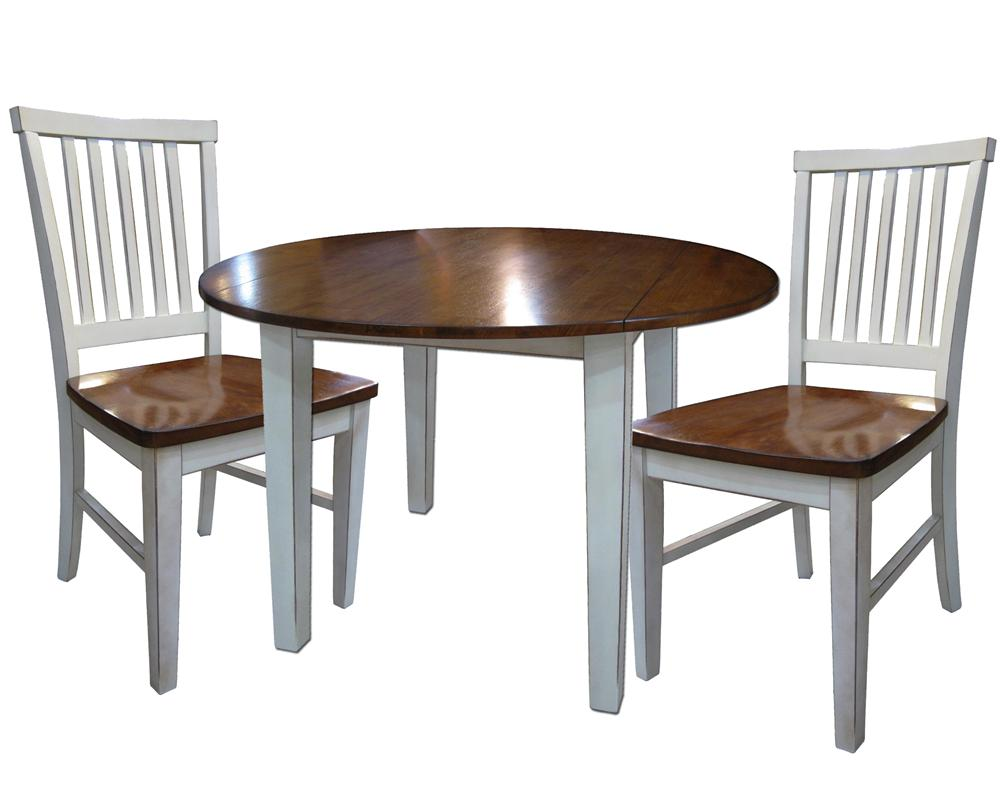 3 Piece Dining Set With Two Drop Leaves