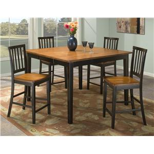 Intercon Arlington 5 Piece Gathering Table Set