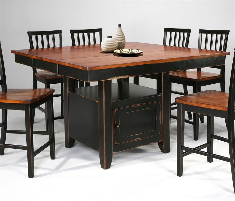 kitchen island table with stools kitchen island amp slat back stools by intercon wolf and 24792