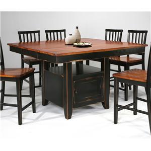 Intercon Arlington 5-Piece Dining Set