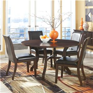 Intercon Cintas Cintas Table + 4 Chairs Set