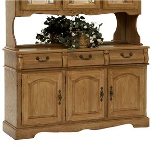 "Intercon Classic Oak 3-Door, 3-Drawer 60"" Buffet"