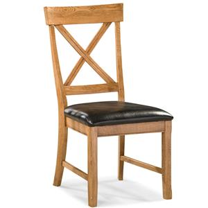 Intercon Family Dining Dining Chair with X-Back