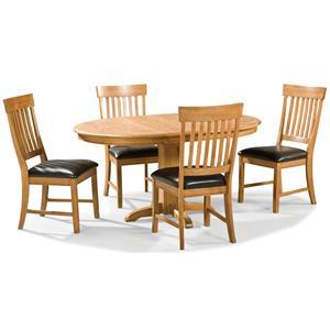 Intercon Family Dining 5 Piece Dining Set