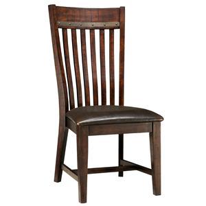 Intercon Hayden Slat Back Side Chair
