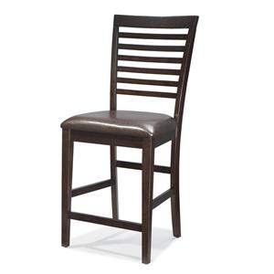 Intercon Kashi Kashi Ladder Back Bar Chair