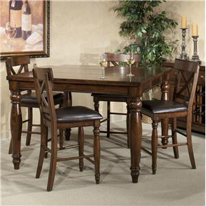 Intercon Kingston  5-Piece Gathering Table Set