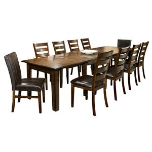 Intercon Kona 7-Piece Dining Set