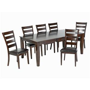 Intercon Kona 7-Piece Dining Set
