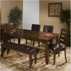 Intercon Kona 6 Piece Dining Room Set