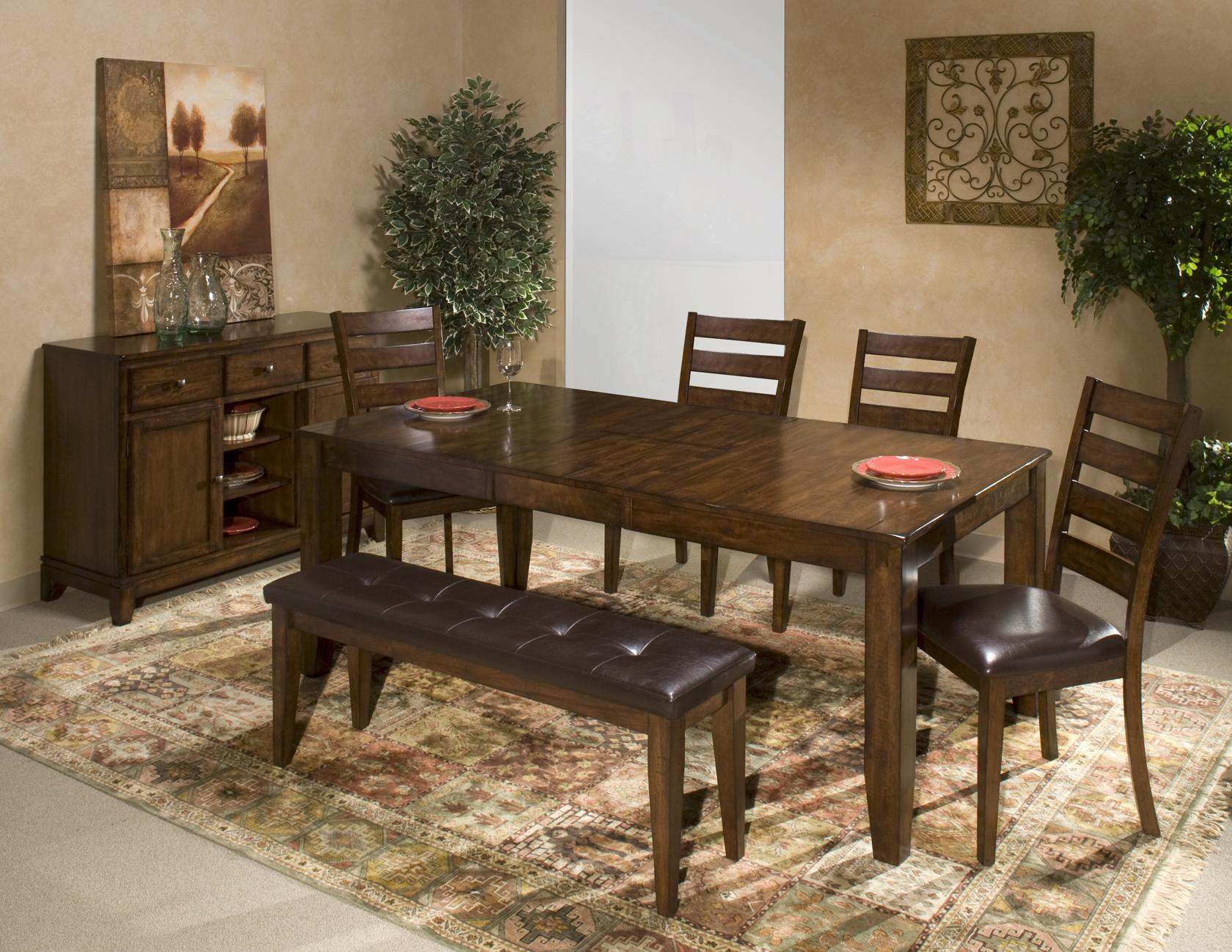 6 Piece Mango Wood Dining Room Set by Intercon | Wolf and Gardiner ...
