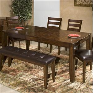 Intercon Kona Dining Table with Butterfly Leaf