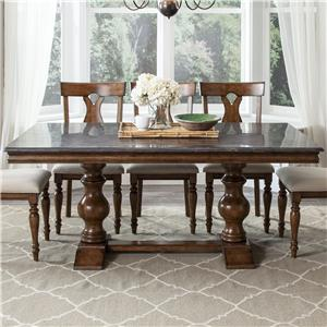 Intercon Brixton Trestle Dining Table