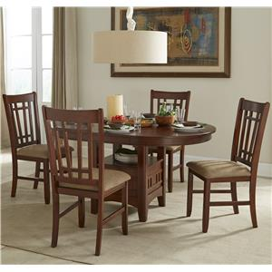 Intercon Mission Casuals 5-Piece Dining Set
