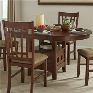 Intercon Mission Casuals Dining Table Ped Base & Top