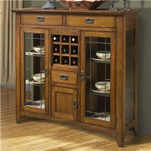 "Intercon Mission Leopold 54"" Server w/ Glass Doors"