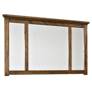 Intercon Oak Park Landscape Dresser Mirror