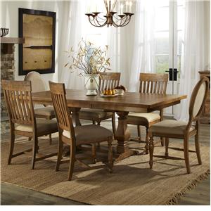Intercon Rhone Dining Table and Chair Set