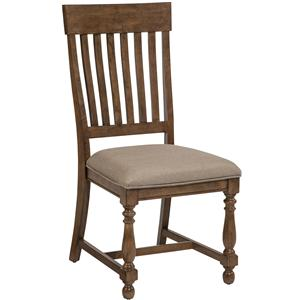 Intercon Rhone Slat back Side Chair