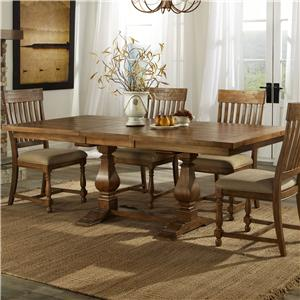 Intercon Rhone Trestle Dining Table