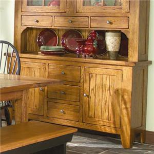 "Intercon Rustic Traditions 60"" Buffet with 2 Doors"
