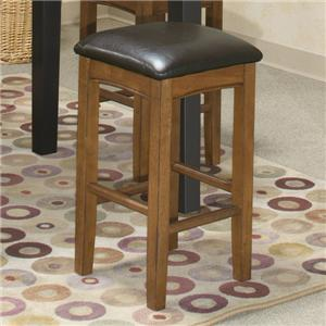 "Intercon Siena 24"" Backless Barstool"