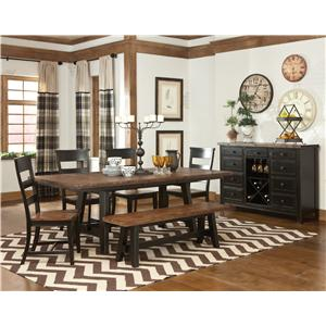 Intercon Winchester Dining Room Group 2