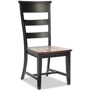 Intercon Winchester Ladder Back Dining Side Chair