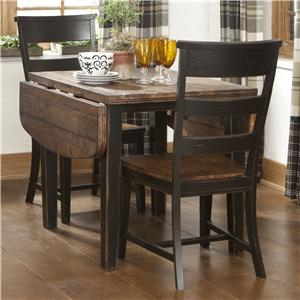 Intercon Winchester 3 Piece Drop Leaf Table Set