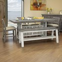 6 Piece Counter Height Table and Chair Set