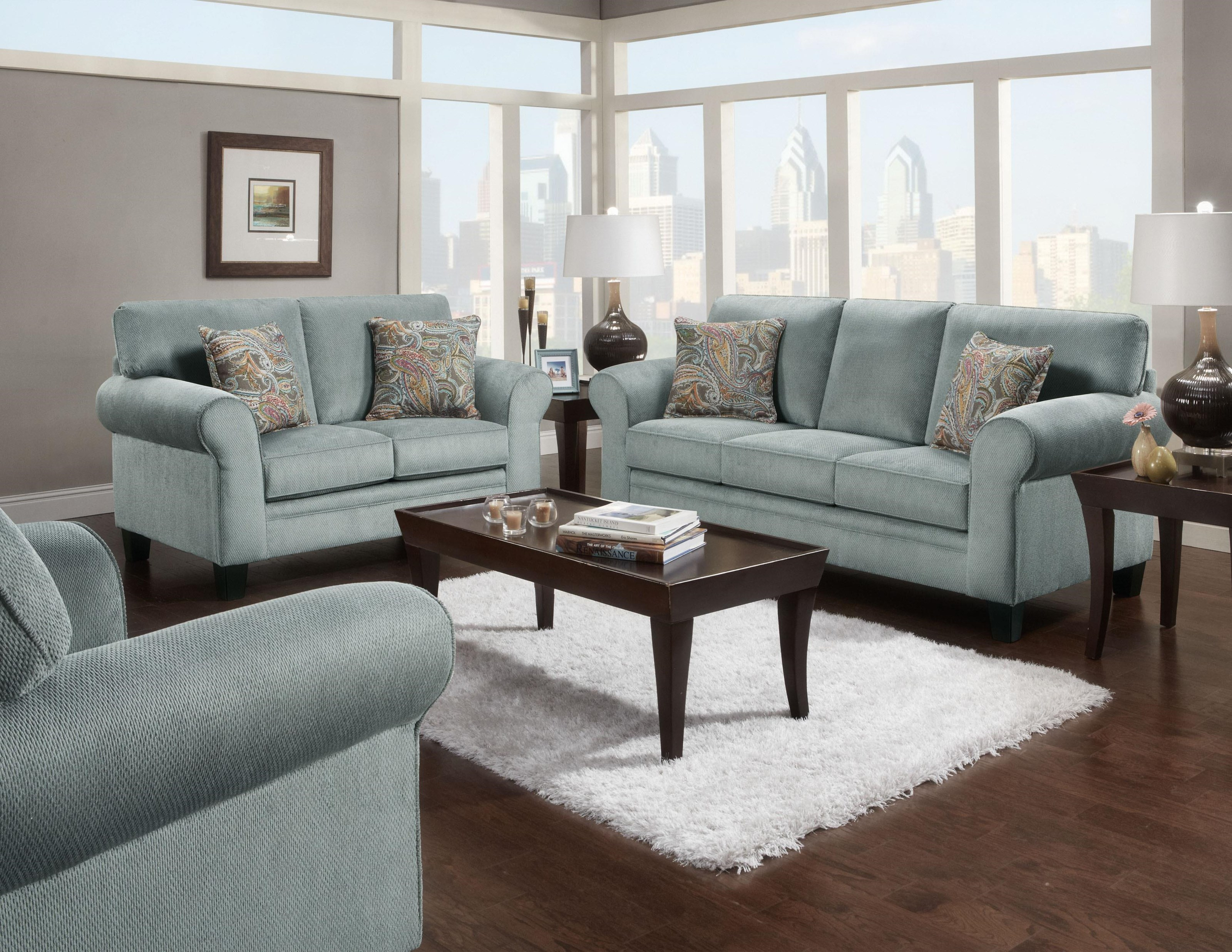 Transitional Style Sofa By J Henry Wolf Furniture