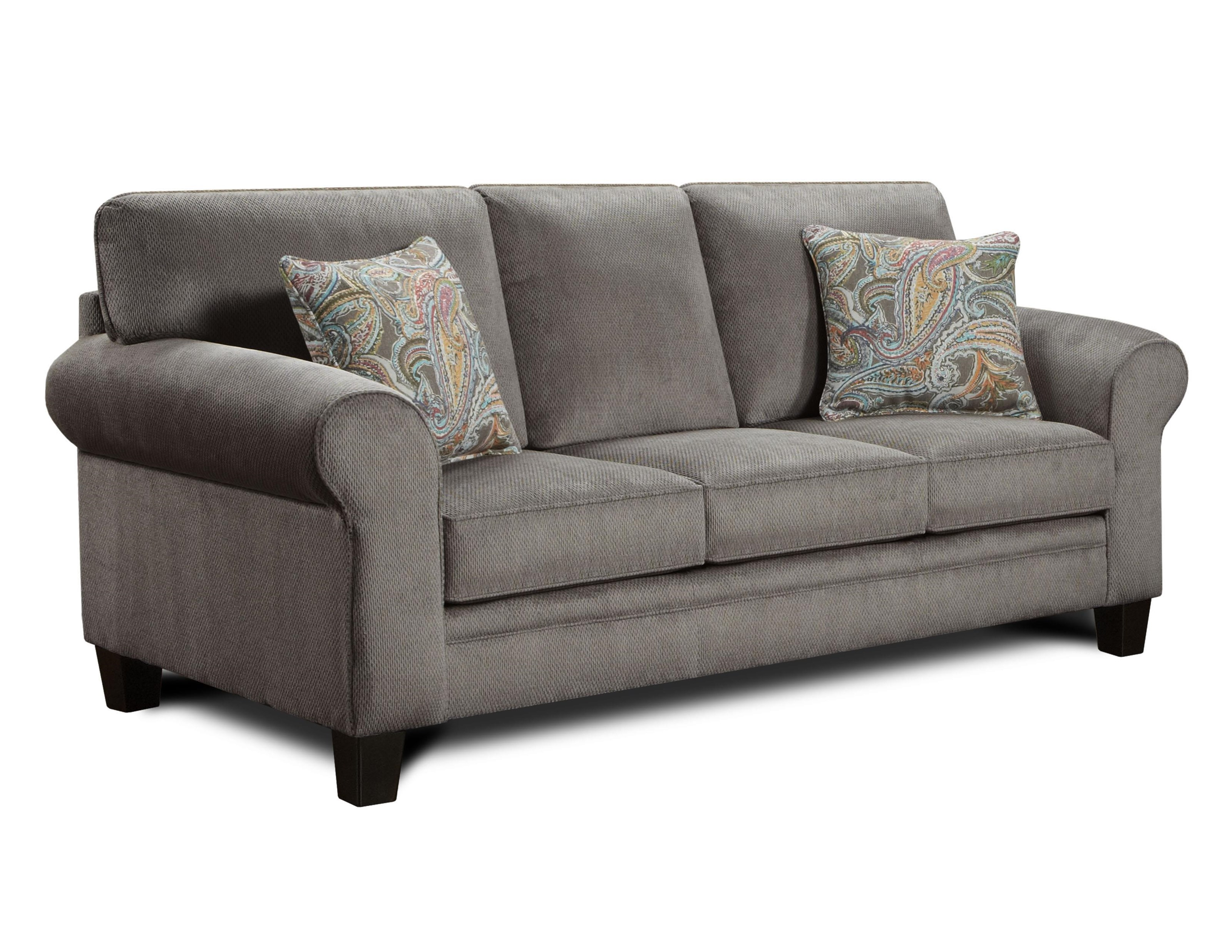 Lovely Transitional Style Sofa