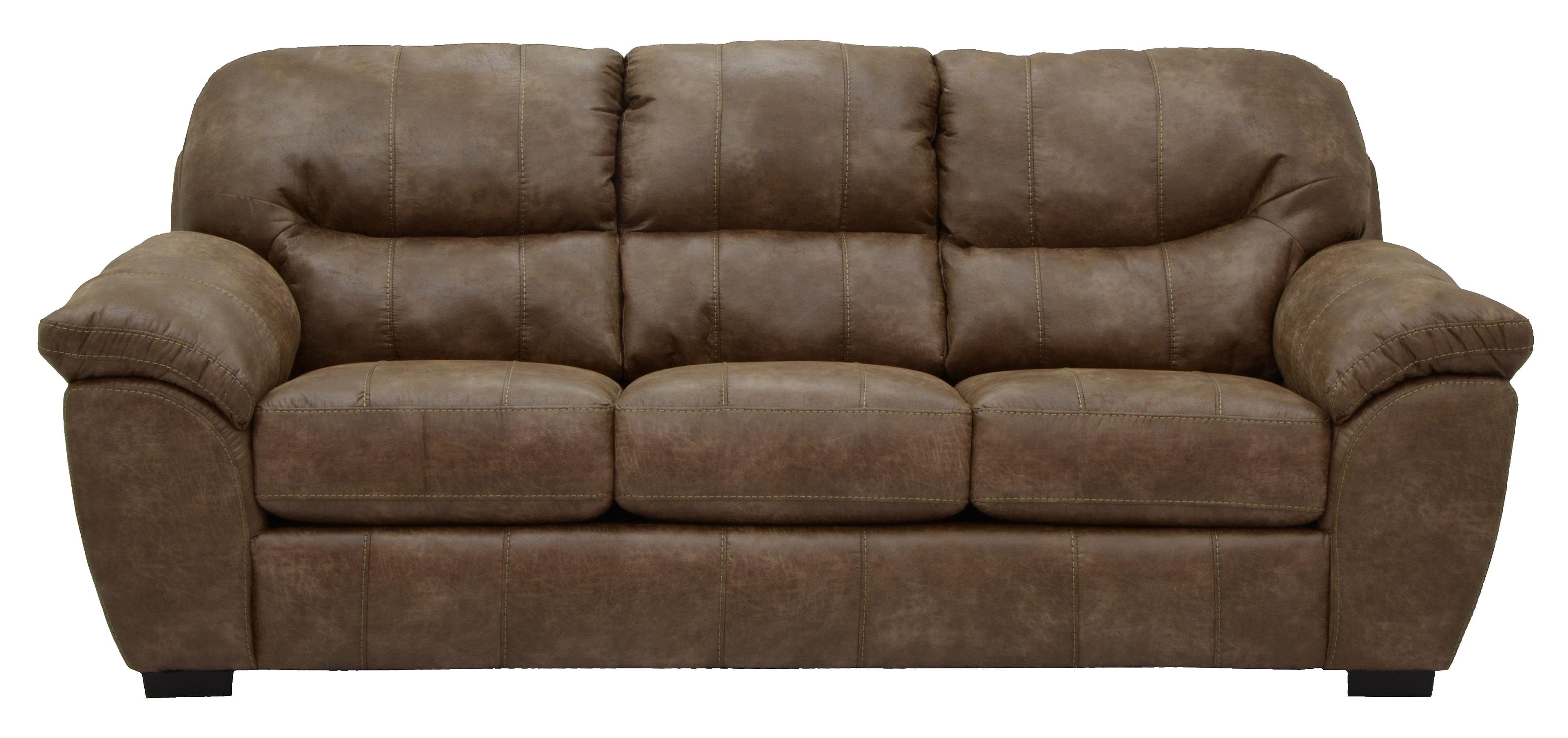 faux leather sofa for living rooms and family rooms by jackson  - faux leather sofa for living rooms and family rooms