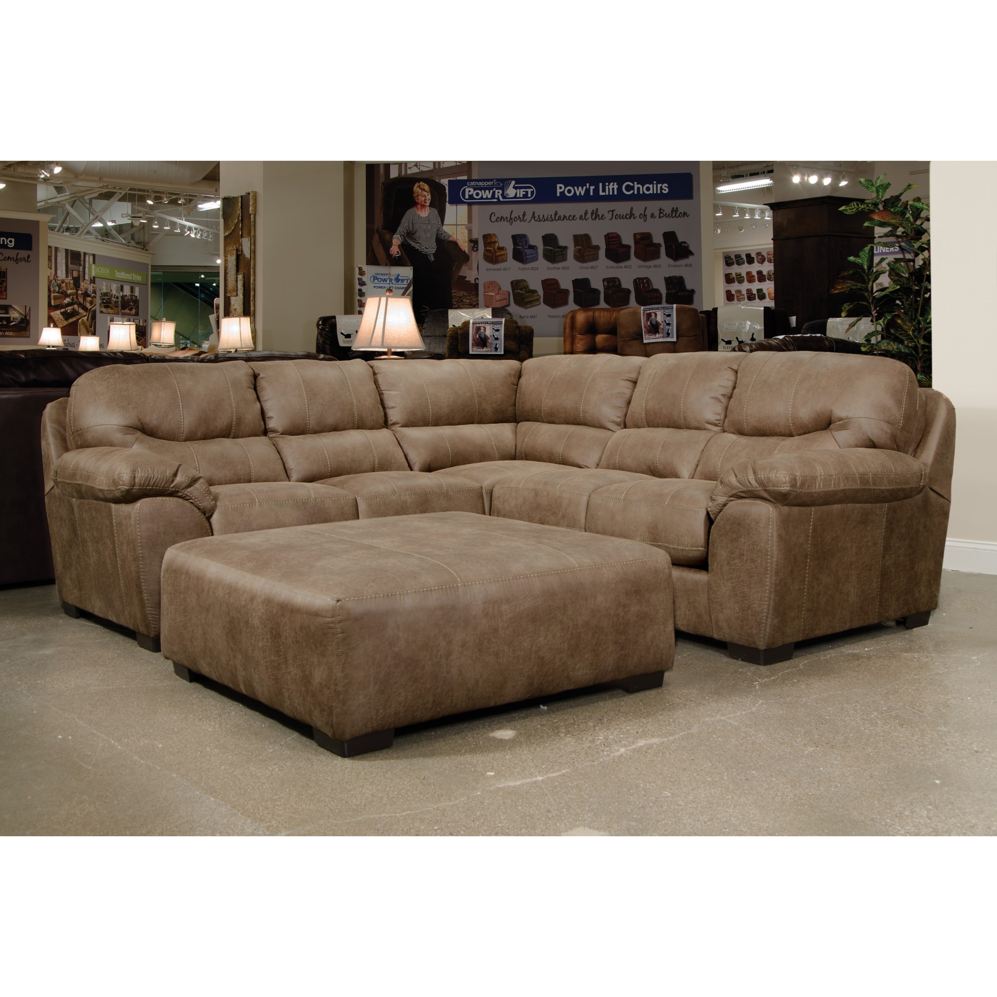 Sectional Sofa By Jackson Furniture Wolf And Gardiner Wolf Furniture