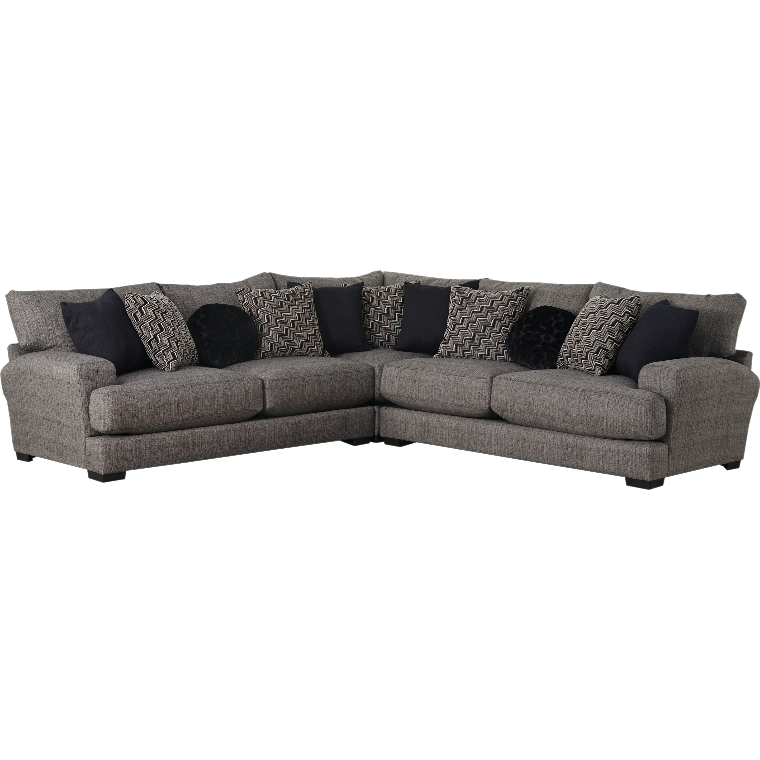 Sectional Sofa With 4 Seats Amp 2 Usb Ports By Jackson