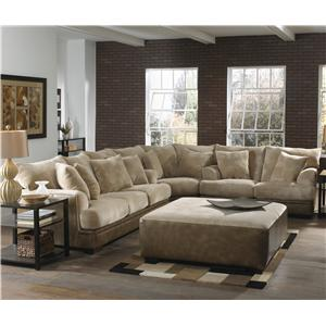 Jackson Furniture Barkley  Sectional Right Love