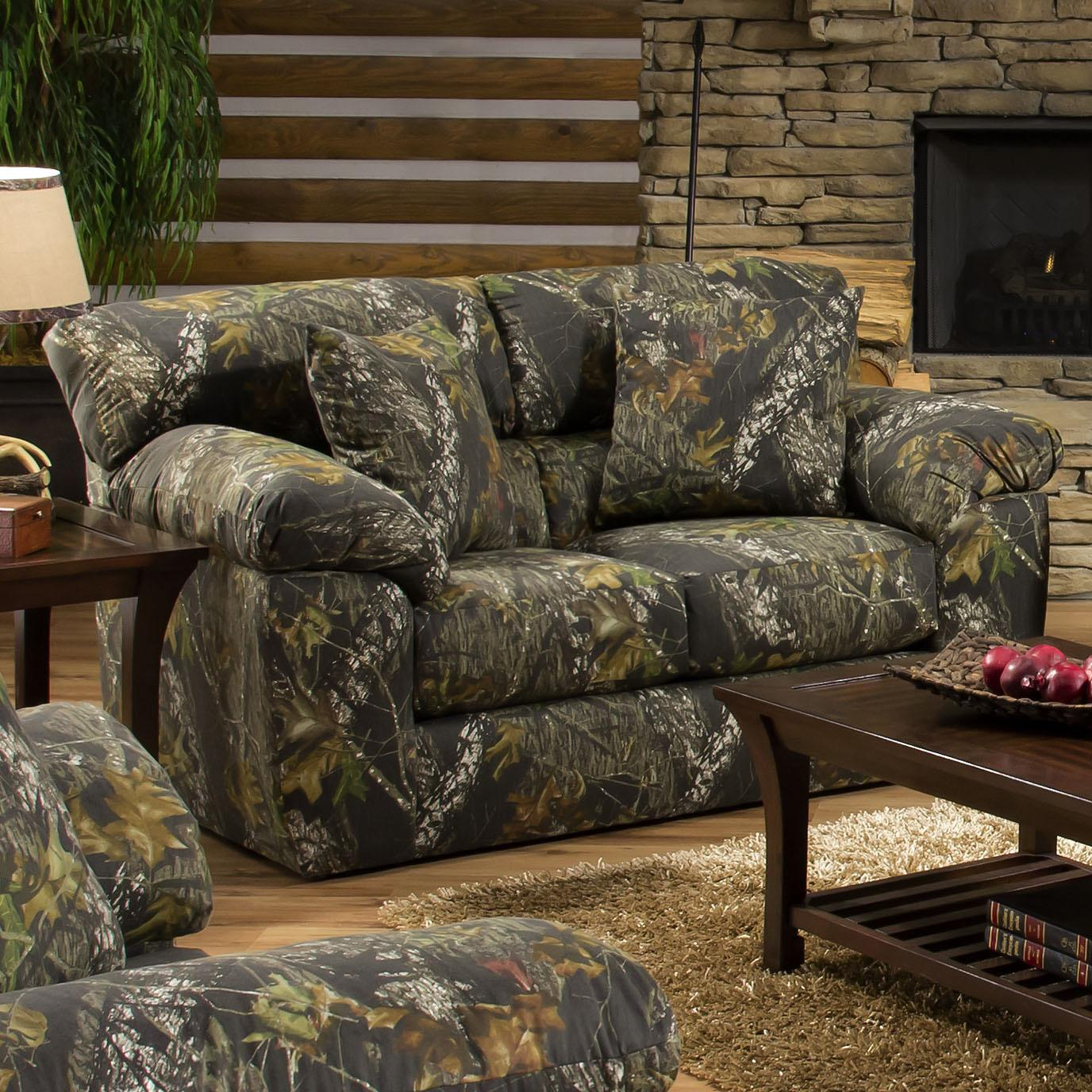 By Jackson Furniture. Camouflage Two Seat Loveseat