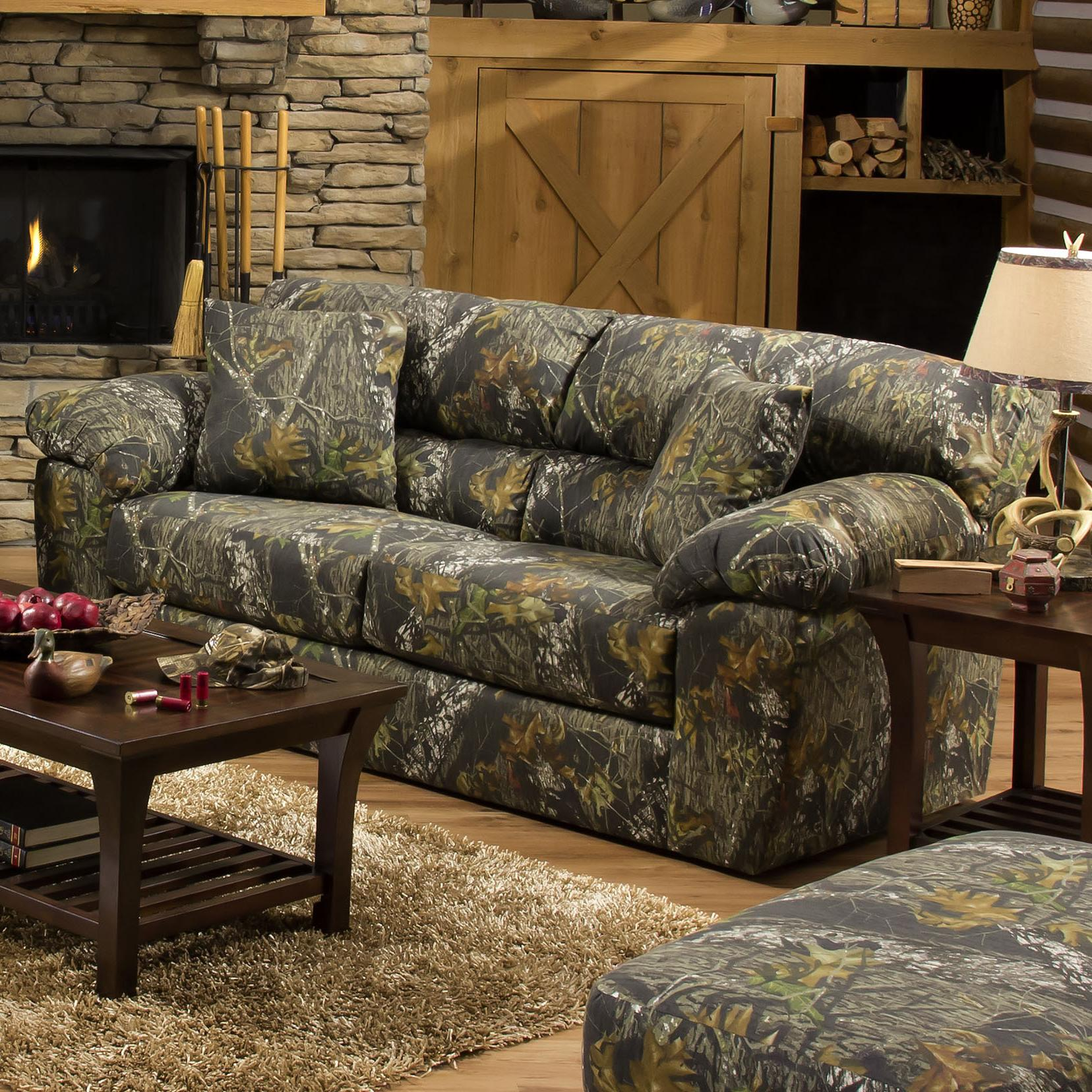 Camouflage Two Seat Sleeper Sofa By Jackson Furniture