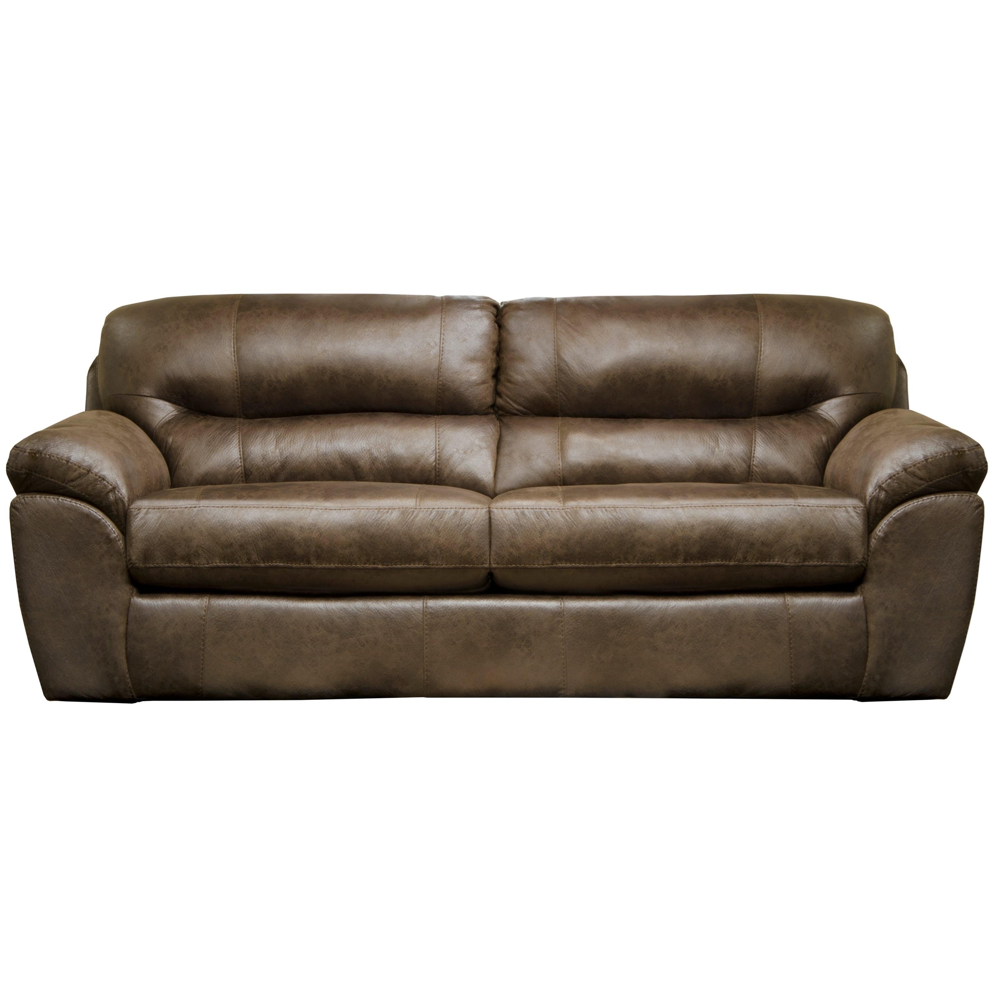 Sofa with Pillow Arms