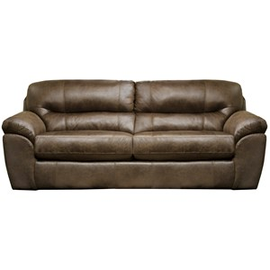 Queen Sleeper Sofa with Pillow Arms