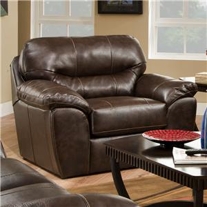 Jackson Furniture Brantley  Blended Leather Chair