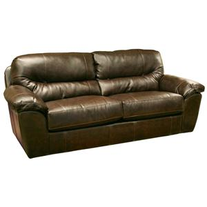 Jackson Furniture Brantley  Blended Leather Sofa