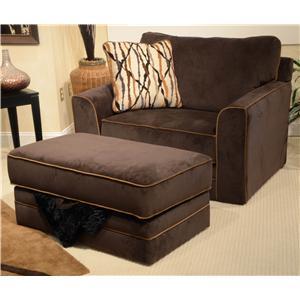 Jackson Furniture Coronado Chair and Ottoman