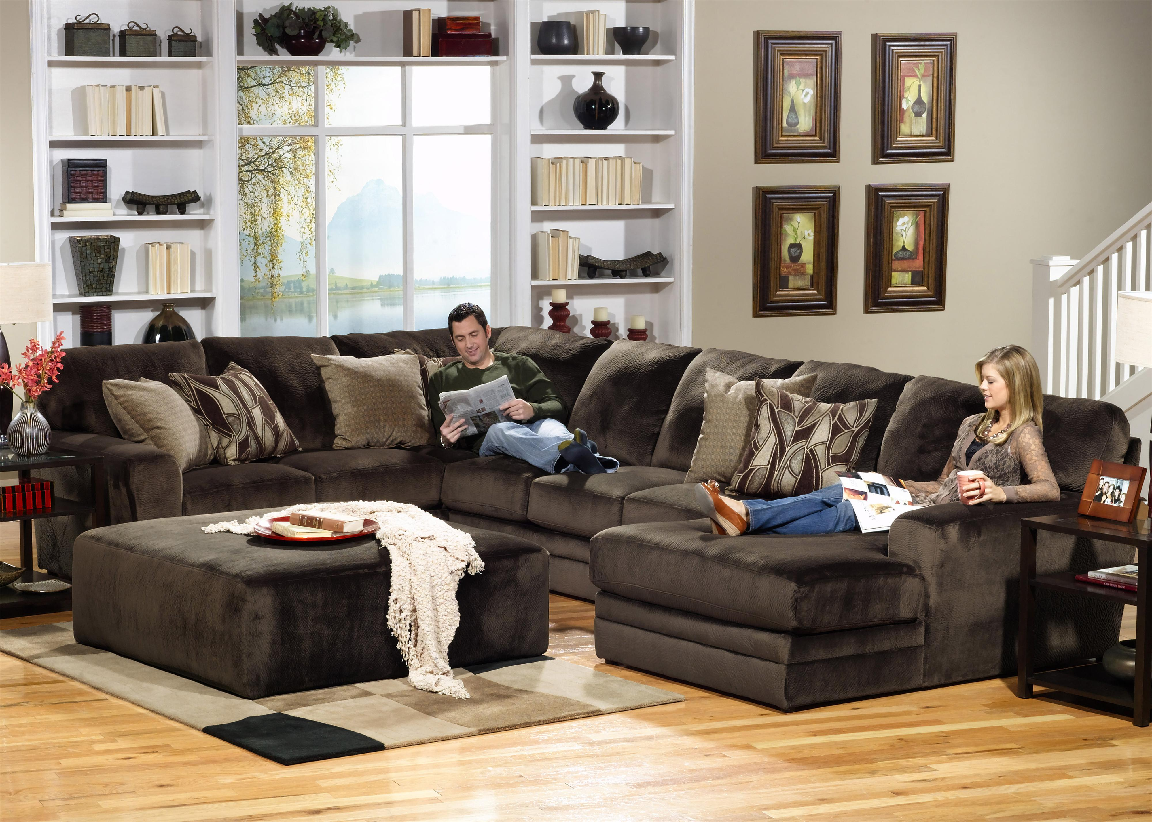 3 Piece Sectional with LSF Section by Jackson Furniture