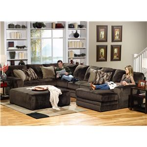 3 Piece Sectional with LSF Section