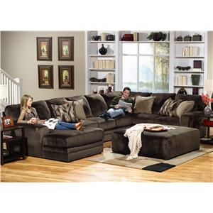 3 Piece Sectional with RSF Section