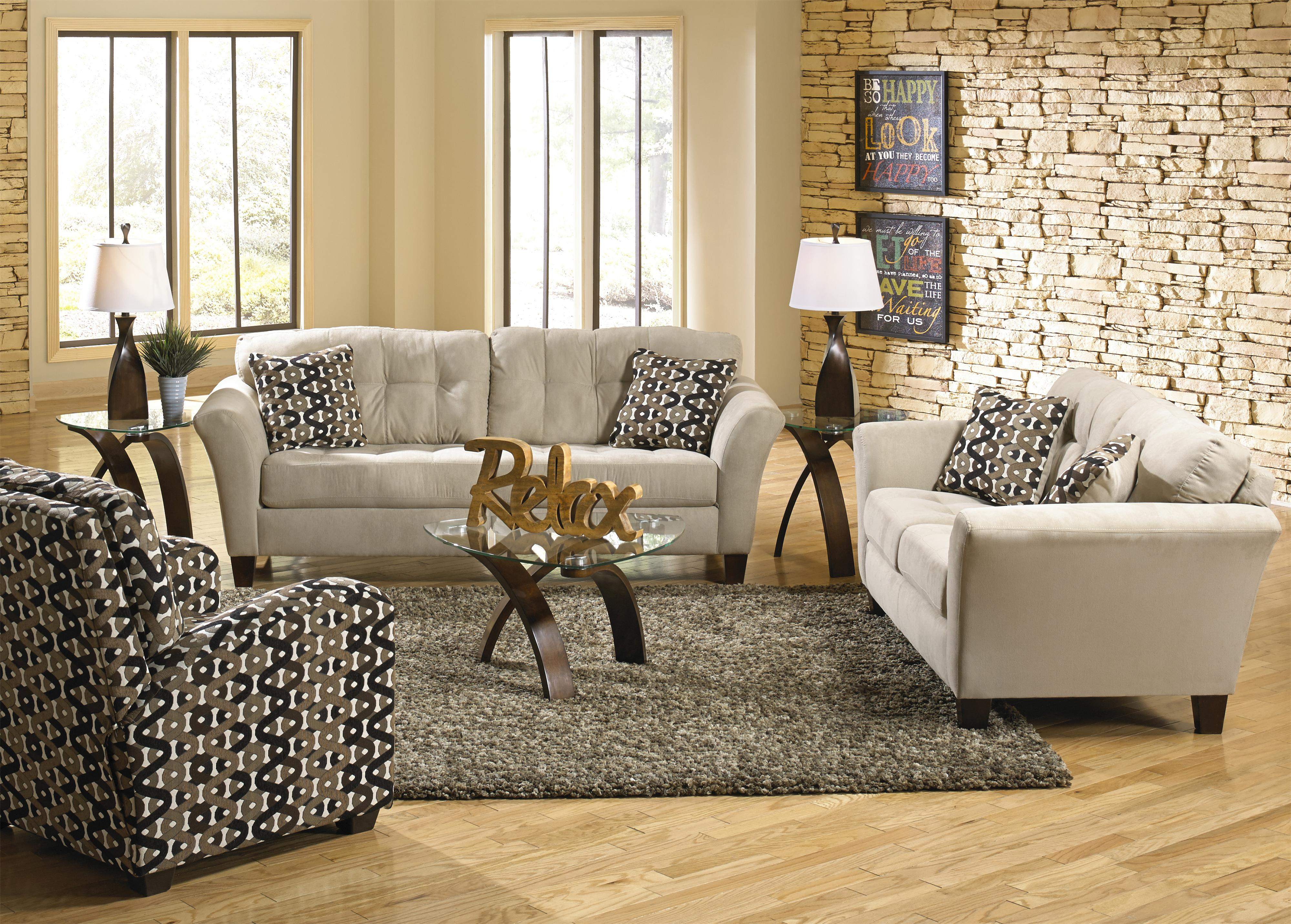 Gentil By Jackson Furniture. Stationary Living Room Group