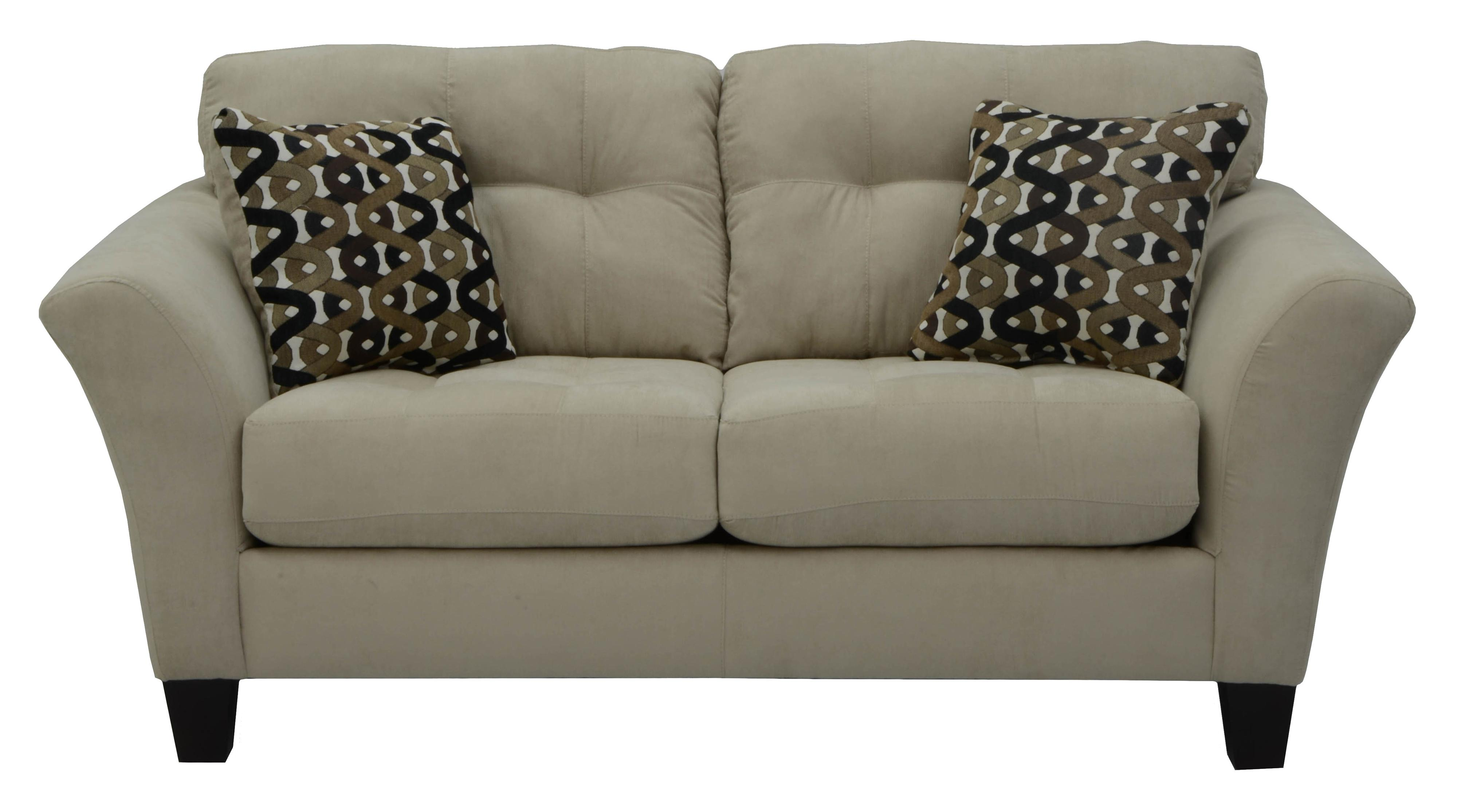 Loveseat With 2 Seats And Tufted Back Cushions By Jackson Furniture Wolf And Gardiner Wolf